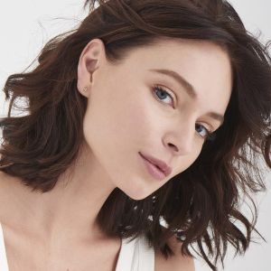 Ania Haie Modern Triple Ball Stud Earrings - Silver