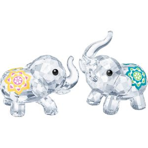 Swarovski Crystal Lucky Elephants
