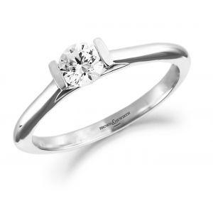 Brown & Newirth Diamond Tension Engagement Ring