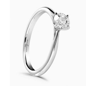 Brown & Newirth 'Magnolia' Brilliant Cut Engagement Ring