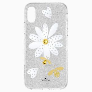 Swarovski Eternal Flower Smartphone Case, iPhone X/XS, Light Multi-Coloured