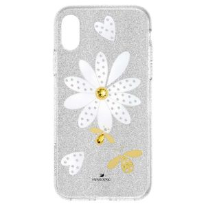 Swarovski Eternal Flower Smartphone Case, iPhone XS MAX, Light Multi-Coloured 5533978