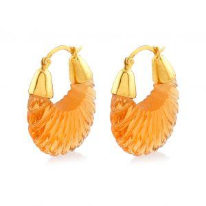 Shyla London Ettienne Earrings - Champagne