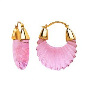 Shyla London Ettienne Earrings - Pink