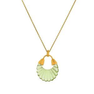 Shyla London Ettienne Necklace - Green