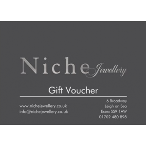 Niche Jewellery - Gift Voucher £50.00