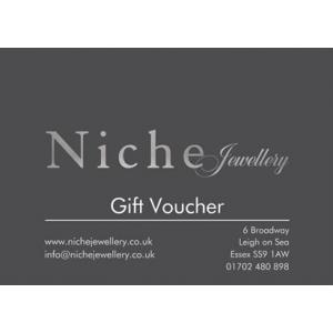 Niche Jewellery - Gift Voucher £100.00