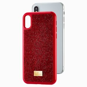 Swarovski Glam Rock IPX phone Red iPhone X/XS