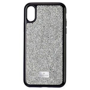 Swarovski Glam Rock Smartphone Case, iPhone XS Max, Silver  5515013