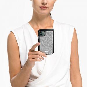 Swarovski Glam Rock Smartphone, iPhone 11 Pro Max, Silver