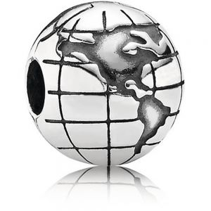 Pandora Planet Earth Clip Charm - 791182