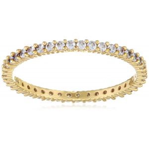 Swarovski Vittore Ring, White, Gold Plating