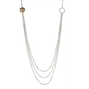 House of Lor Three Strand Disc Necklet