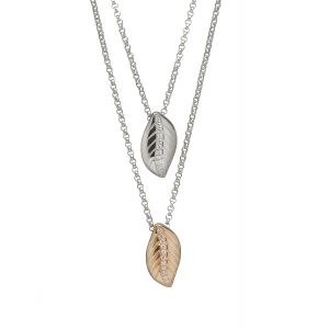 House of Lor Double Leaf Pendant