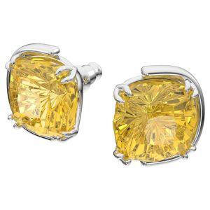Swarovski Harmonia Yellow Crystal Stud Earrings 5616511