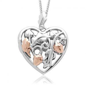 Clogau Royal Clogau Oak Open Heart Locket 3SRCOL