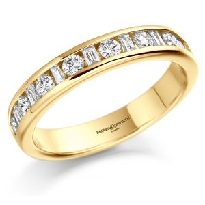 Brown & Newirth 'Magic' Half Eternity Ring