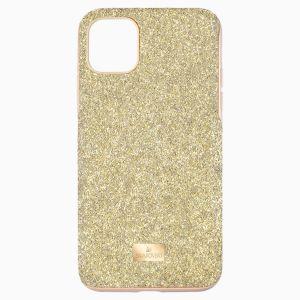 Swarovski High Smartphone Case with Bumper - iPhone 11 Pro Max - Gold tone