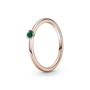 Pandora Green Solitaire Ring-189259C05