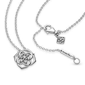 Pandora Rose Petals Collier Necklace - 399370C01-45