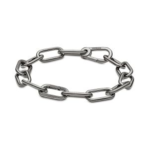 Pandora Me Link Chain Bracelet,  Ruthenium-plated
