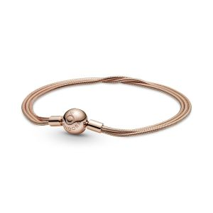 Pandora Rose Moments Multi Snake Chain Bracelet 589338C00