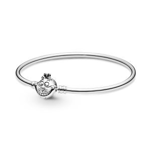 Pandora Disney Alice in Wonderland Cheshire Cat Clasp Pandora Moments Bangle 599343C00