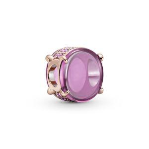 Pandora Pink Oval Cabochon Charm-789309C02