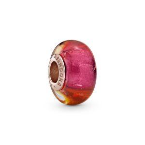Pandora Glittering Sunset Murano Glass Charm 789440C00