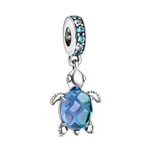 Pandora Murano Glass Sea Turtle Dangle Charm 798939C01