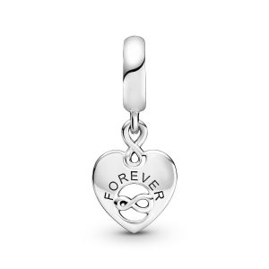 Pandora Friends Forever Heart Dangle Charm-799294C01