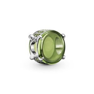 Pandora Green Oval Cabochon Charm-799309C02