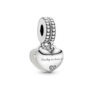 Pandora Daughter and Mother in Law Split Dangle Charm - 799321C01