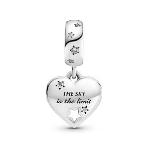 Pandora Congratulations Heart and Stars Dangle Charm - 799323C01