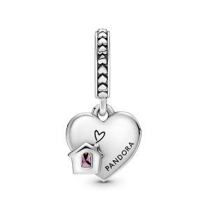 Pandora Love My Home Heart Dangle Charm - 799324C01