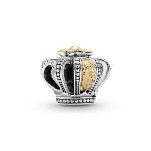 Pandora Two-tone Regal Crown Charm
