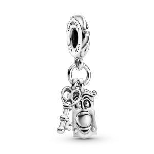 Pandora Disney Alice in Wonderland Key and Door Knob Dangle Charm -  799344C00
