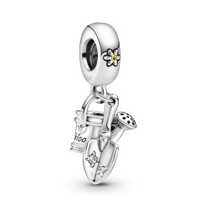 Pandora Watering Can and Trowel Dangle Charm- 799359C01