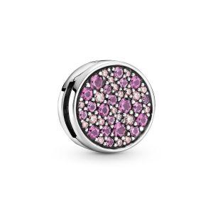 Pandora Reflexions Pink Pavé Clip Charm - 799362C01