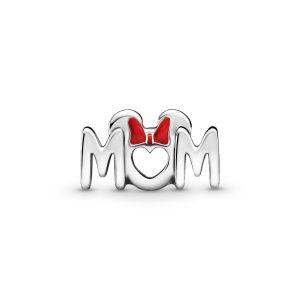 Pandora Disney Minnie Mouse Bow and Mum Charm - 799363C01