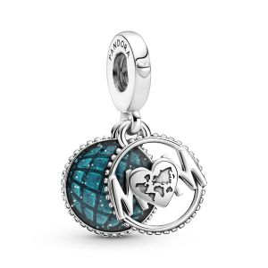 Pandora Glitter Globe Mum Dangle Charm - 799368C01