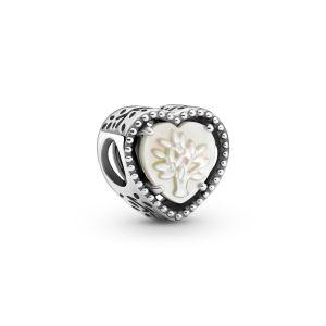 Pandora Openwork Heart and Family Tree Charm - 799413C01