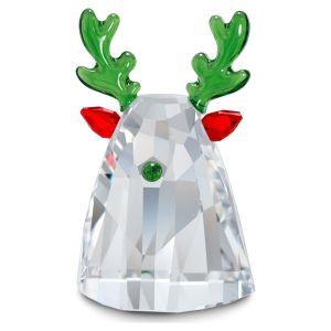 Swarovski Crystal Holiday Cheers Reindeer
