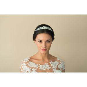 Ivory and Co Hyacinth Pearl Tiara