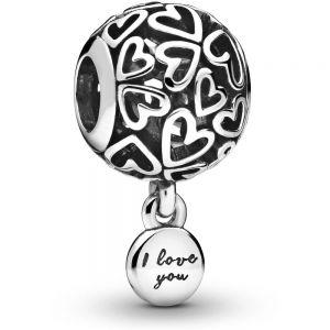Pandora Openwork Love Hearts Charm - 798606C00