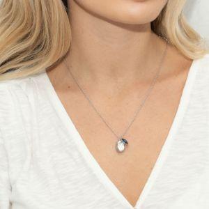 Sarah Alexander Iceberg Kyanite and Nugget Charm Necklace