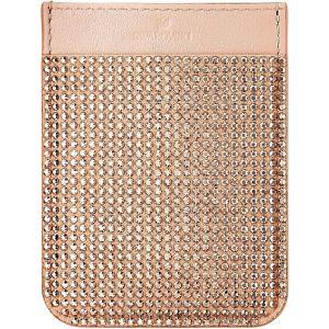 Swarovski Smartphone Sticker Pocket - Rose Toned