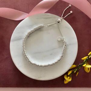 Slider Link Bracelet - Sterling Silver