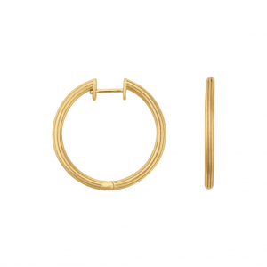 byBiehl Isla Large Gold Hoops 4-020-GP