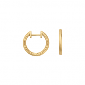 byBiehl Isla Small Gold Hoops 4-019-GP